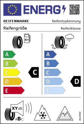 Neues EU Reifen Label