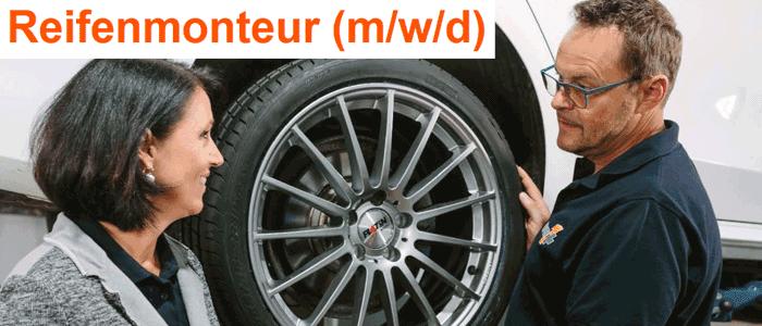 Reifenmonteur Vollzeit in Bexbach gesucht