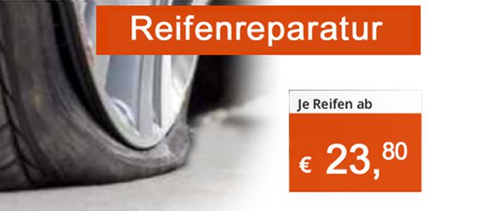 Wer eine Reifenpanne hat, muss nicht zwangsläufig einen neuen Reifen kaufen.